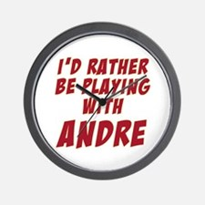 Andre Agassi Wall Clock