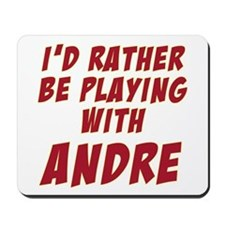 Andre Agassi Mousepad