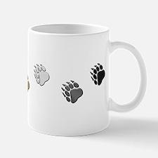 BEAR PRIDE BEAR PAWS/HORIZONTAL Mug