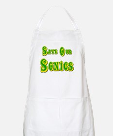 Save Our Sonics in Seattle BBQ Apron