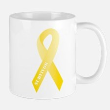 Yellow Ribbon Survivor Mug