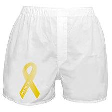 Yellow Ribbon Survivor Boxer Shorts