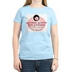 Mothers Against Dog Chaining Women's Pink T-Shirt