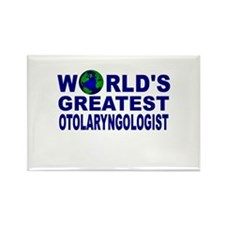 World's Greatest Otolaryngolo Rectangle Magnet