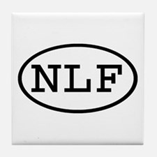 NLF Oval Tile Coaster