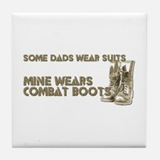 Cute Military kids Tile Coaster