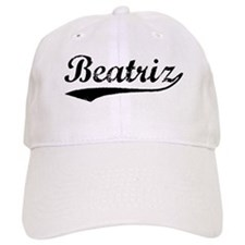 Vintage Beatriz (Black) Baseball Cap