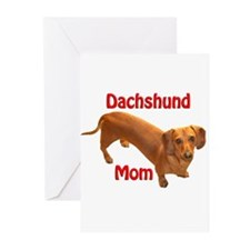 Doxie Mom 2 Greeting Cards (Pk of 20)