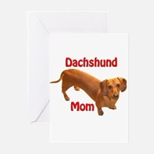 Doxie Mom 2 Greeting Cards (Pk of 10)