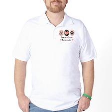 Peace Love Komondor T-Shirt