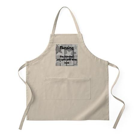 Hardest job you love BBQ Apron