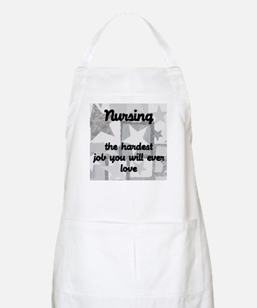 Hardest job you love BBQ Apron