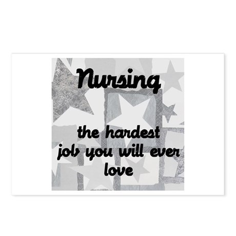 Hardest job you love Postcards (Package of 8)