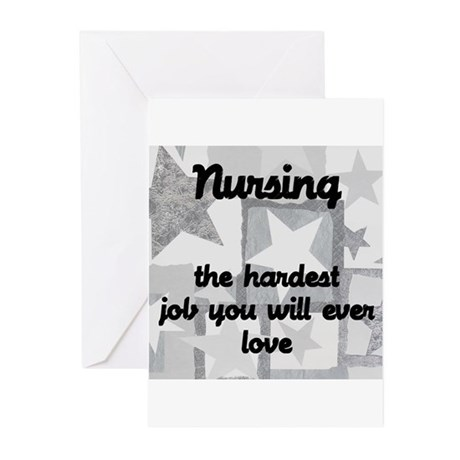 Hardest job you love Greeting Cards (Pk of 20)