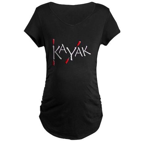 Kayak Maternity Dark T-Shirt
