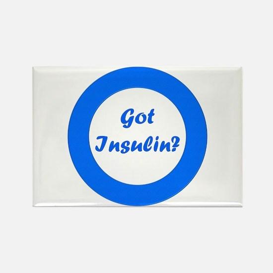 Got Insulin Rectangle Magnet
