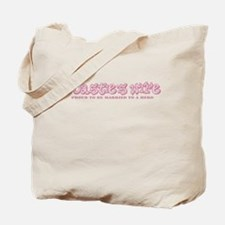 Cute Married to an american Tote Bag