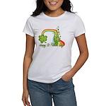 Happy St Patricks Day Rainbow Women's T-Shirt