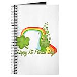 Happy St Patricks Day Rainbow Journal