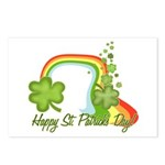 Happy St Patricks Day Rainbow Postcards (Package o