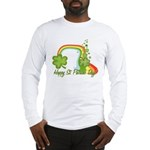 Happy St Patricks Day Rainbow Long Sleeve T-Shirt