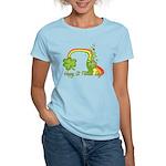 Happy St Patricks Day Rainbow Women's Light T-Shir