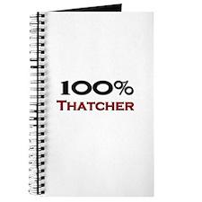 100 Percent Thatcher Journal