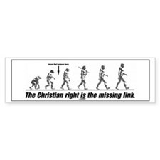 The Christian Right IS the Missing Link