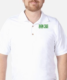 Anam Cara Green Golf Shirt