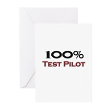 100 Percent Test Pilot Greeting Cards (Pk of 10)