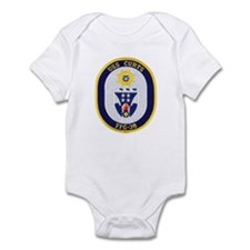 USS CURTS Infant Bodysuit