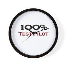 100 Percent Test Pilot Wall Clock