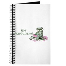 Got Schnauzers Dog Art Journal