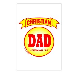 CHRISTIAN DAD Postcards (Package of 8)