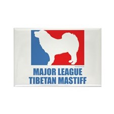 ML Tibetan Mastiff Rectangle Magnet (100 pack)