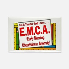 EMCA! (Red) Rectangle Magnet
