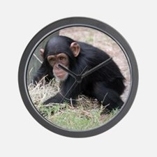 Chimp baby Wall Clock