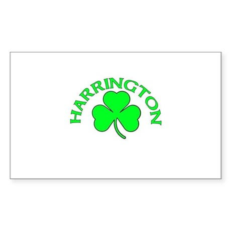 Harrington Rectangle Sticker