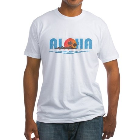 Vintage Aloha Hawaii Fitted T-Shirt