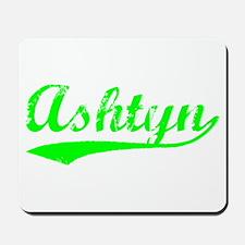Vintage Ashtyn (Green) Mousepad