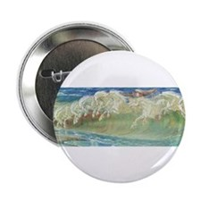 "NEPTUNE'S HORSES II 2.25"" Button (10 pack)"