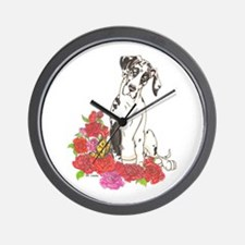 NH Spring Pup Wall Clock