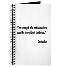 Confucius Home Integrity Quote Journal