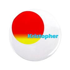 "Kristopher 3.5"" Button"