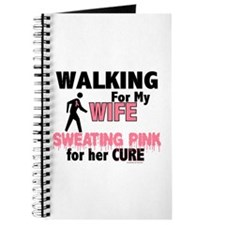 Walking/Sweating Pink 1 (Wife) Journal