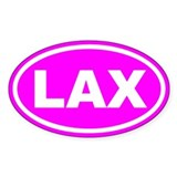 Lax oval sticker Single