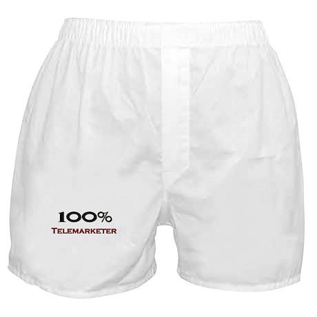 100 Percent Telemarketer Boxer Shorts