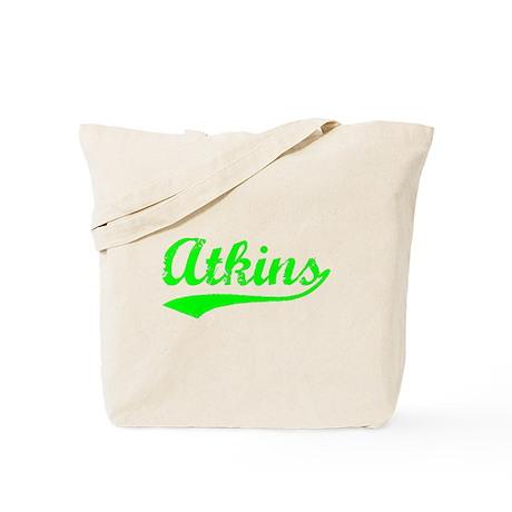 Vintage Atkins (Green) Tote Bag