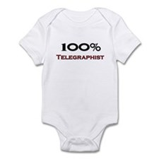 100 Percent Telegraphist Infant Bodysuit