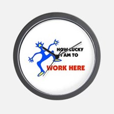 WORKER Wall Clock